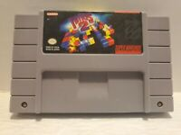 Tetris 2 SNES (Super Nintendo Entertainment System 1994) Cartridge Only *TESTED*