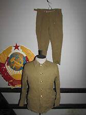 Russian soviet red army field summer uniform soldier infantry USSR СССР