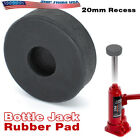 Rubber Bottle Jack Pad With 20mm Hole Jacking Point For Most 2 Tons Bottle Jacks