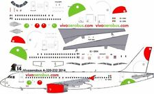 Vivaareobus first Airbus A-320 decals for Revell 1/144 kit