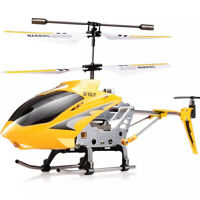 Syma S107G 3.5-Channel 2nd Generation RC Helicopter with Gyro (Yellow)