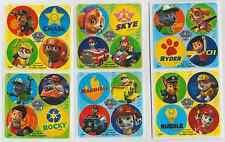 "80 Paw Patrol Mini Stickers, 1.2"" Round Each, Party Favors"