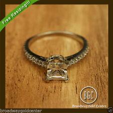 Princess White Gold SI1 2.00 - 4.99 Diamond Engagement Rings