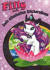 Filly Elves / Dein elfenhaftes Stickeralbum  / Leeres Sticker Album / Blue Ocean