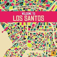 THE ALCHEMIST AND OH NO PRESENT Welcome To Los Santos 2015 CD NEW/SEALED GTA V
