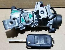 VW GOLF MK5 TOURAN LEON OCTAVIA MK2 IGNITION BARREL + ONE FOB KEY 1K0905851B  A