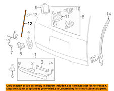 GM OEM Lift Gate-Actuator Rod 15836293