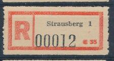 68277) DDR, Reco-Zettel Strausberg 1