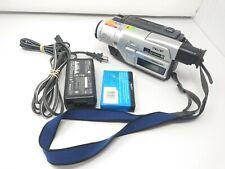 Sony Digital Handycam Dcr-Trv120 Digital8 Hi8 8mm Camcorder Player Tested Works