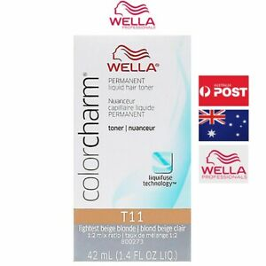 Wella Color charm T11 Lightest Beige Blonde Hair Toner