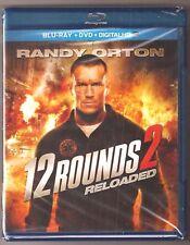 12 Rounds 2 Reloaded Blu-ray + DVD + Digital HD Movie Film Randy Orton BRAND NEW
