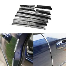 8x Car Door Edge Guards Trim Molding Protection Strip Scratch Protector Anti-rub