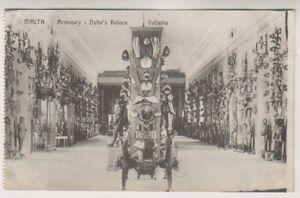 Malta postcard - Malta - Armoury, Duhe's Palace, Valletta (A4)