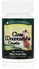 Plum Flower, Clear Mountain Air Teapills, Ding Chuan Wan, 200 ct