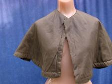 Vintage Edwardian Cape Shrug Wrap Tlc Padded Tan Antique S Xs