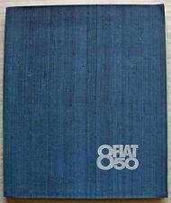 FIAT 850 Car PRESS PACK Brochure Photo April 1964