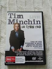 Tim Minchin - So Live (DVD, 2015) REGION: 2+4, LIKE NEW, FREE POST IN AUSTRALIA