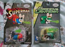 Kidrobot x Kozik DC Labbits Bundle Superman & Green Lantern