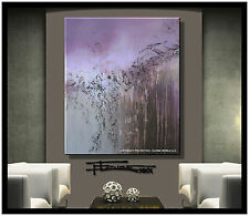 ABSTRACT PAINTING Modern Canvas Wall Art LARGE, Direct from Artist ELOISExxx