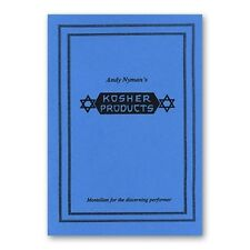 Kosher Products by Andy Nyman