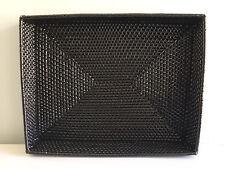 """Rattan Magazine Tray Basket Espresso Brown, Size: 18""""x14""""x3"""""""