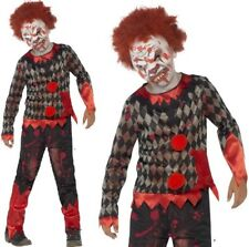 Smiffys - Costume Zombie enfant Clown luxe Taille M