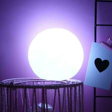 Silicone Moon Lamp White LED Night Light Home Room Bedroom Decoration Kids Gift