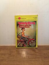 Henry and the Paper Route by Beverly Cleary (1980) PB