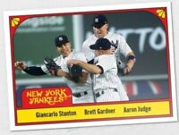 Aaron Judge Stanton Gardner 2018 Topps TBT Throwback Thursday 78 Three's Company