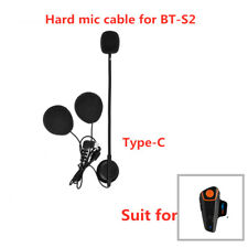 Motorcycle Bluetooth Intercom Hard Cable headset For 1000M BT-S1/S2 Intercoms