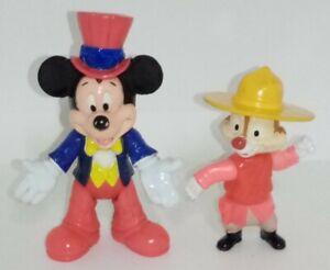Mickey Mouse USA Chipmunk Epcot Centre Disney Figures Disneyana Vintage 90s Toy