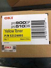 OKI Data Toner Cartridge NEW OEMYellow 52124001 PRO510DW / PRO900DP new in box