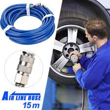 Druckluftschlauch PVC Pressluftschlauch Schlauch Druckluft 15M für Kompressor LY