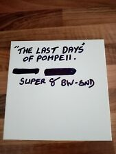 cinema home movie super 8 the last days of pompeii black and white sound