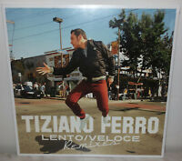 "10"" TIZIANO FERRO - LENTO,VELOCE - NUMBERED - ORANGE - NUOVO NEW"