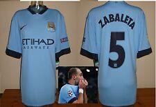 Manchester City 2014/15 home shirt P.ZABALETA BNWT champions league XL Argentina
