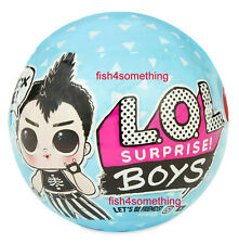LOL SURPRISE! BOY SERIES DOLLS! BLUE BALL - NEW 2019 - REAL AUTHENTIC! PRE-ORDER