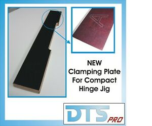 Clamping Plate for Compact Hinge Jig