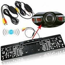 Rückfahrkamera Auto Kamera 170 ° IR Nachtsicht Für EU Nummernschild-Rahmen