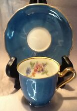 LOVELY TIRSCHENREUTH BAVARIA GERMANY DEMITASSE CUP and SAUCER SET