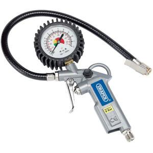 Draper 10604 Air Airline Car Tyre Inflator & Pressure Gauge