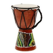 Professional African Djembe Drum Bongo Wooden Good Sound Musical Instrument