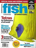 Aquarium Fish International Magazine Tetras Butterflyfish Moving Setting Up Tank