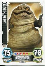 Star Wars Force Attax Series 3 Card #129 Jabba The Hutt