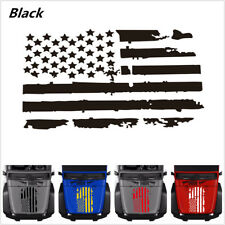 American Flag Window Wall Glass Door Car SUV Truck Vinyl Sticker Decal 20''x35''