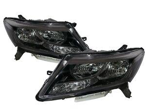PATHFINDER R52 MK4 13-16 Pre-Facelift 5D Clear Headlight Black for NISSAN LHD