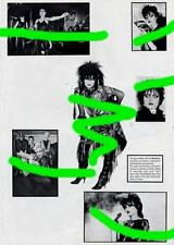 Siouxsie and the Banshees book Photos