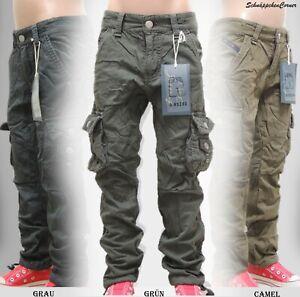 Kinder-Jeans Jungen-Jeans-Hose-Winter/Thermo~CargoGefüttert~Gr.6-16~Neu 6925K79