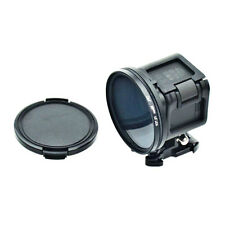 58mm Circular Polarizer CPL Lens Filter + Lens Cap for GoPro Hero 5/4 Session RC