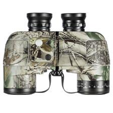 BNISE Military HD Binoculars, Navigation Compass and Rangefinder, 10x50 Large